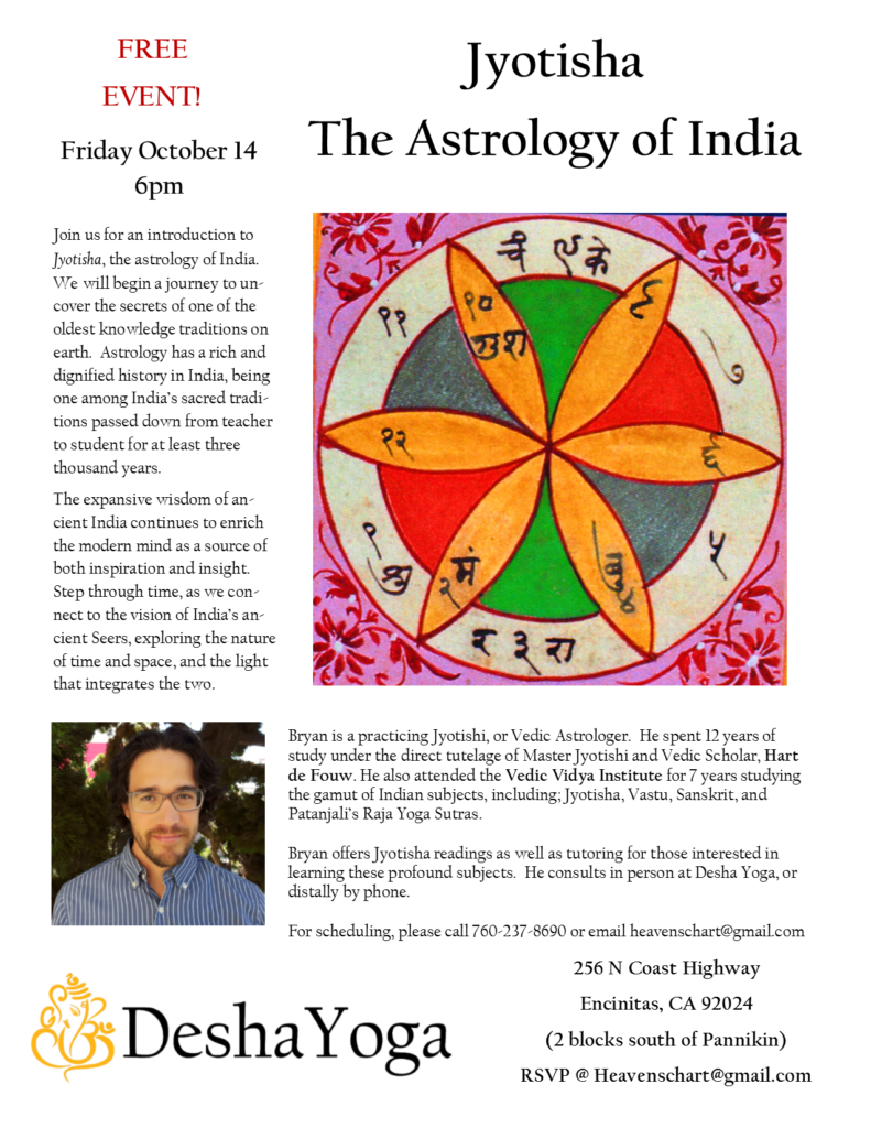 Astrology Flyer